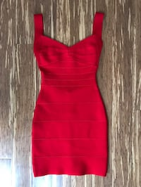 Red backless bandage dress (Lady Luxe Boutique - AUS small) Торонто, M4M 2P8