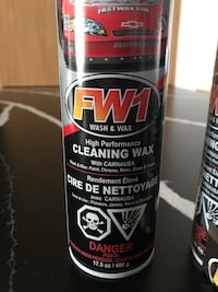 High performance cleaning wax new can