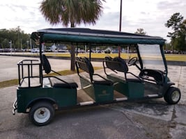 Club Car Precedent shuttle limo golf cart