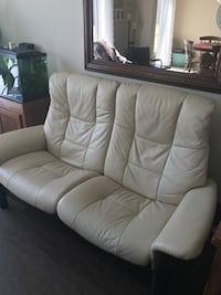 Stressless leather sofa