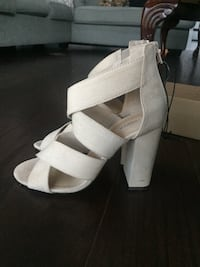 Forever 21 open-toe ankle strap wedges Birmingham
