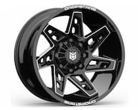 """20"""" DROPSTARS Wheels & Tires Package: 20x10 Rims Gloss Black (DS-653) 33x12.50R20 M/T Tires FREE Leveling Kit Complete Package Only $1599   La Habra"""