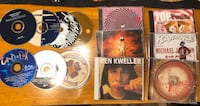 13 used music CD's - ok condition - $3 for all - porch pickup Brentwood, 37027