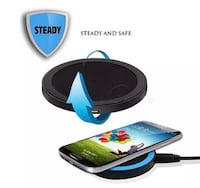 New qi wireless fast charger iPhone and Android-free shipping