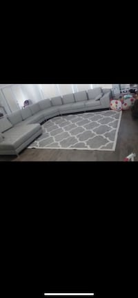 4 piece sectional. Grey. 8 seater Temple Hills, 20748