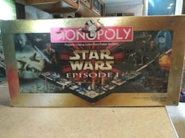 Collectors Edition 3D Star Wars Monopoly
