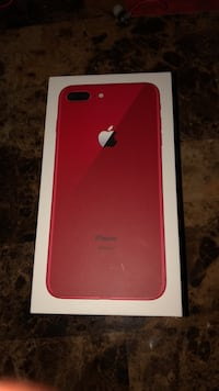 iPhone 8 Plus red brand new Morrice, 48857