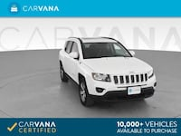 2016 *Jeep* *Compass* High Altitude Edition Sport Utility 4D suv White Brentwood