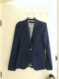 Ladies Zara Dark Blue Navy Suit Jacket Size XS Vancouver, V6G 1C2