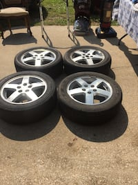 Tires and rims Richfield, 44286