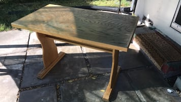 Kitchen table or shop bench