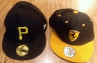 two black and yellow fitted caps Shelbyville, 37160