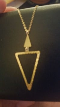 10k. Yellow gold necklace 93 mi