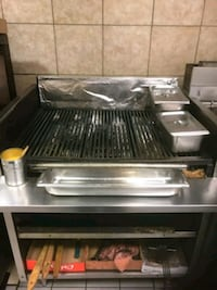 Stainless steel grill Markham, L3S