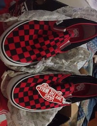 VANS SLIP ON CHECKBOARB RED BLACK Teramo, 64100