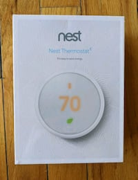 NEW, UNOPENED NEST THERMOSTAT E