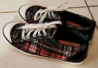 Authentic Coach Tartan Plaid Sneakers Apple Valley