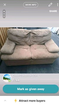 FREE GOOD CONDITION SOFA Richmond Hill, L4C 3L2