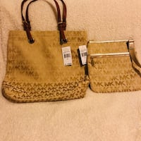 Brown and black michael kors  tote bags Bay Point, 94565