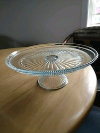 Glass Cake Stand Westtown, 10998