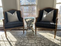 NEW - Two French Country Accent Chairs - $400 Sterling
