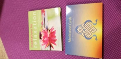 Meditation CD-ROM and cards