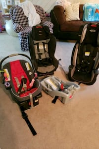 Britax and Graco Carseats