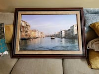 Venice, Italy Framed Mounted Picture 44x32 Alpharetta, 30004