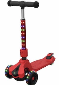 Brand new Jetson Saturn Folding 3-Wheel Kick Scooter with Light-Up Monroe, 28110