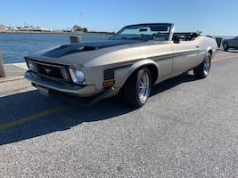 """1973 Ford Mustang Convertible """"Mach 1"""""""
