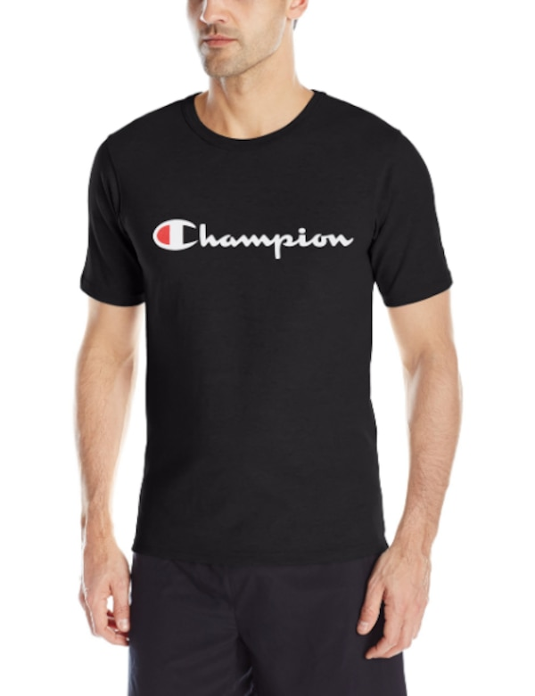 1d6175ef2 Used Champion LIFE Men's Heritage Tee, Black/Patriotic Champion S ...