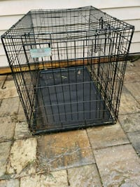 black metal folding dog crate Fleming Island, 32003