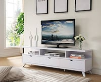 White TV stand media console  Kansas City, 64111