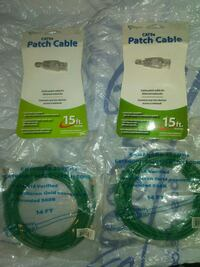 Unopened 15 Foot CAT5E Patch Cables Chesapeake