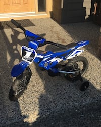 Kids BMX Bike, Used twice son outgrew it. Langley, V3A 7N2