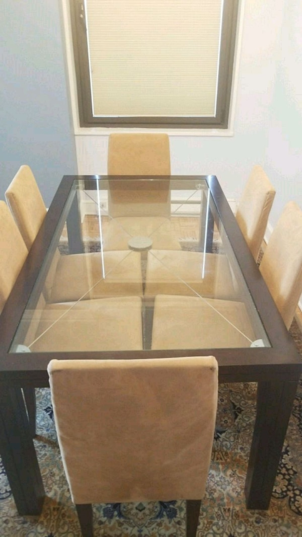 Used Roche Bobois Dining Table And Chairs For In New York Letgo