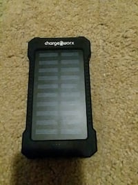 Black solar wireless charging port Corning, 14830