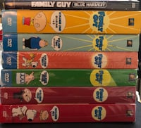 Family Guy Volumes 1, 2, 3, 4, 5 & 6 AND Blue Harvest DVD Set Griffith, 46319