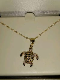 Gold Turtle Necklace Tucson, 85712