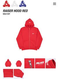 Red Palace Raiser Hoodie