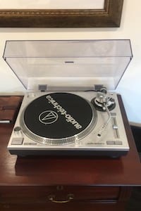 Audio Technica AT-LP120 with record Belcarra, V3H 4R7