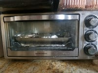 Used / clean black and gray toaster oven Mississauga, L5N 4L6