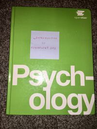 COLLEGE TEXT - Introductory to Psychology 101 Chambersburg