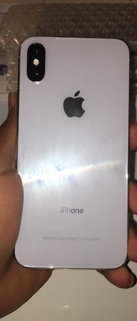 (PRICE IS FIRM)Unlocked to any carrier White iPhone X 64GB