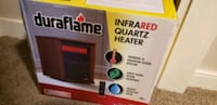 Infrared quartz heater with temp control