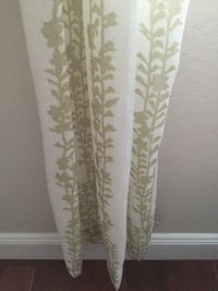 3 sheer curtain panels Pacifica, 94044
