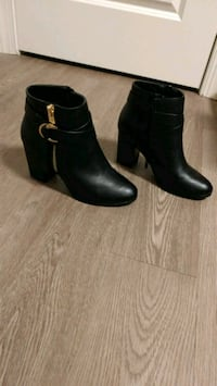 Womens black ankle booties Phoenixville, 19460