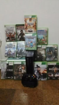 Xbox 360(250 Gb) W/ Games and accessories Henrico, 23229