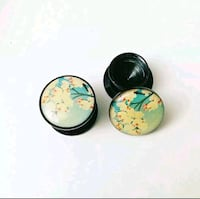 Cherry Blossom Plugs (Earrings) Toronto, M6M 1T8