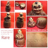 Vintage Monk Cookie Jar Calgary, T2L 0T3